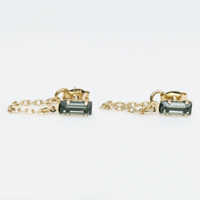Bing Bang Gold Continuous Earrings