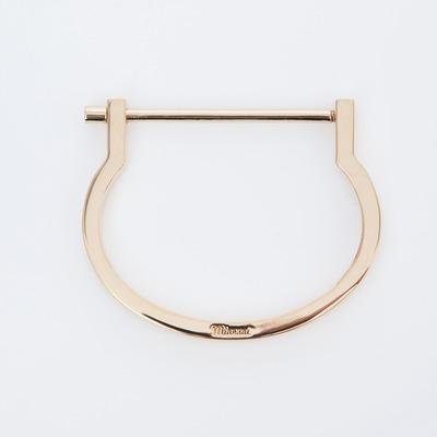 Miansai Gold Modern Screw Cuff
