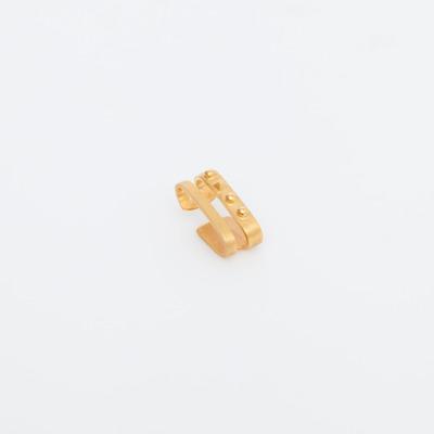Maria Black Gold Double Sane Ear Cuff