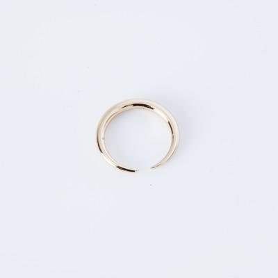 Gabriela Artigas Infinite Tusk Ring 14K Gold Plated