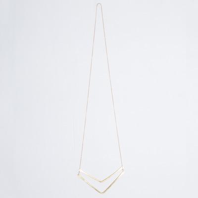 Marisa Mason Zion Double Chevron Necklace