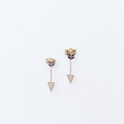 Jennie Kwon Diamond Arrow Earrings