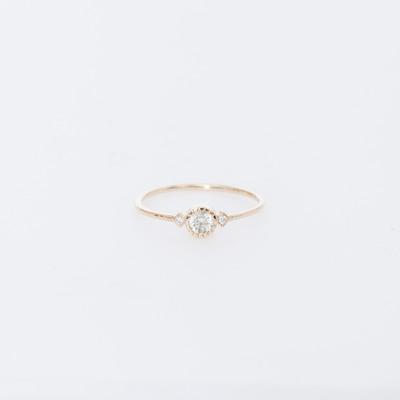 Jennie Kwon Grey Diamond Sotto Voce Ring