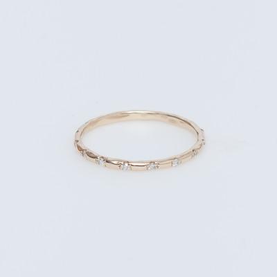 Vale 14K Gold Seize Diamond Ring