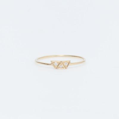 AILI 18K Gaia Base Ring