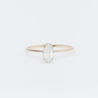 Bing Bang Gold Vermeil Tiny Marquis Opal Ring