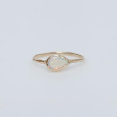 Misa 14K Gold Opal Compass Ring