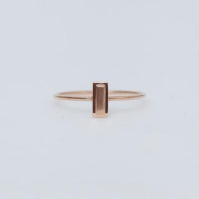 Ginette NY 18K Lingot Ring