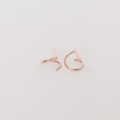 Maria Black Rose Gold Sanae Twirl Earring