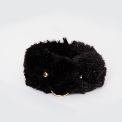 FAUX/real Keeps Me Company Faux Fur Bangle