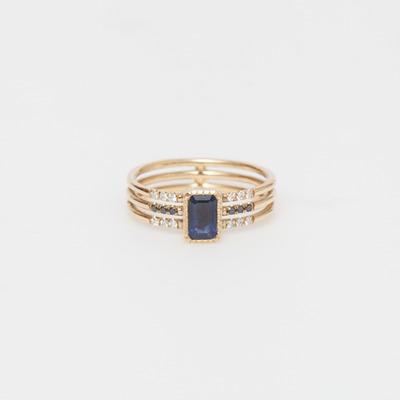 Jennie Kwon Sapphire Multi Band Ring