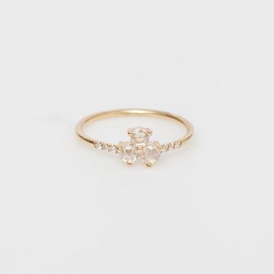 Jennie Kwon Diamond Triad Equilibrium Ring
