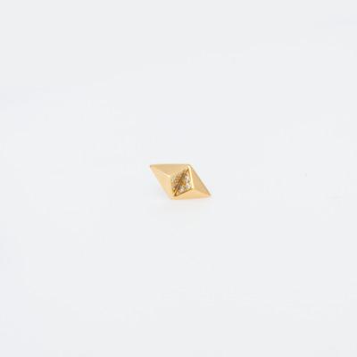 Maria Black Gold Billy Diamond Earring