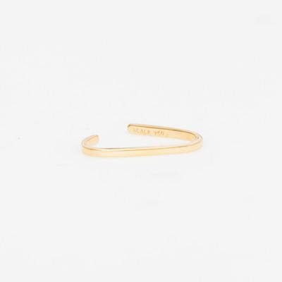 Maria Black Gold Revier Nude Ear Cuff