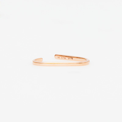 Maria Black Rose Gold Revier Nude Ear Cuff