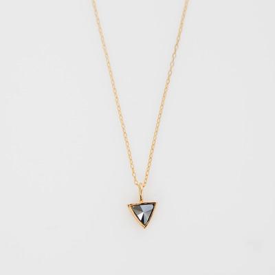 Bing Bang Delta Bezel Necklace