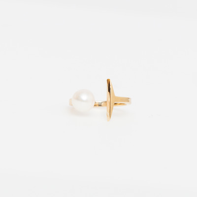 Carolyn Colby Suspended Pearl Ring