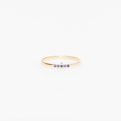 Carolyn Colby Solar Flare Sapphire Ring