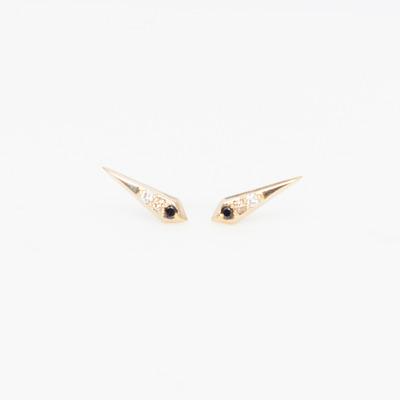 Carolyn Colby Ray of Light Stud Earrings