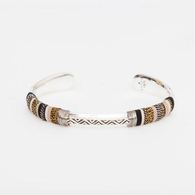 Gas Bijoux Silver Massai Bracelet