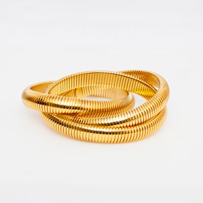 Gas Bijoux Triple Infinity Bangle