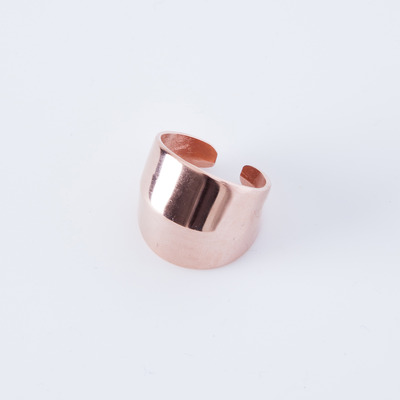 Alynne Lavigne Knuckle Ring Rose Gold Plated
