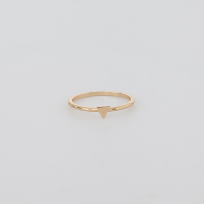 Bing Bang Gold Tiny Triangle Ring