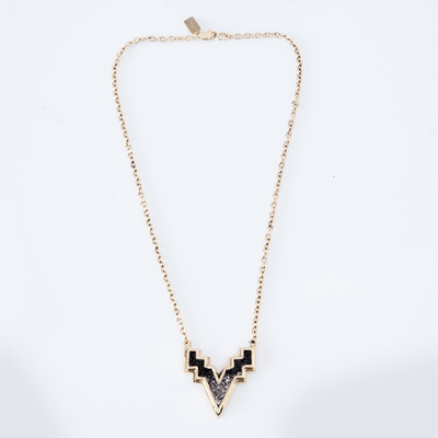Lady Grey V Necklace