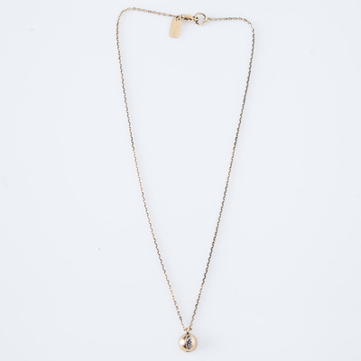 Lady Grey Cat Eye Necklace Gold