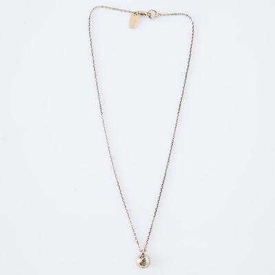 Lady Grey Cat Eye Necklace Gold