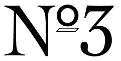 Shop No. 3 Logo