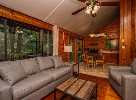 Stay at noc nantahala outdoor center for The cabins at nantahala