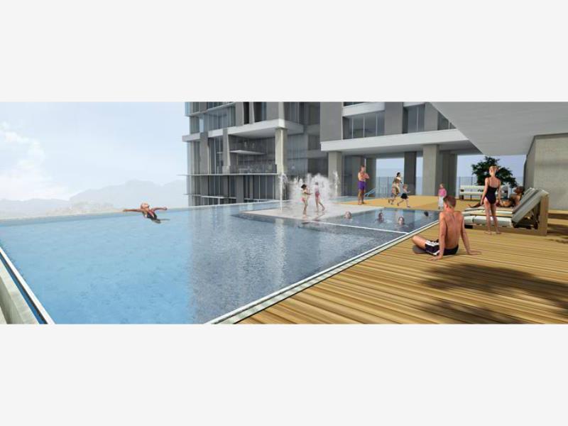 Departamento en venta micropolis monterrey nuevo le n for Construccion de piscinas en monterrey