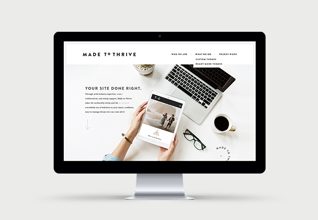 Made to Thrive - Noirve Design