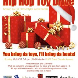Hip hop toy drive 2