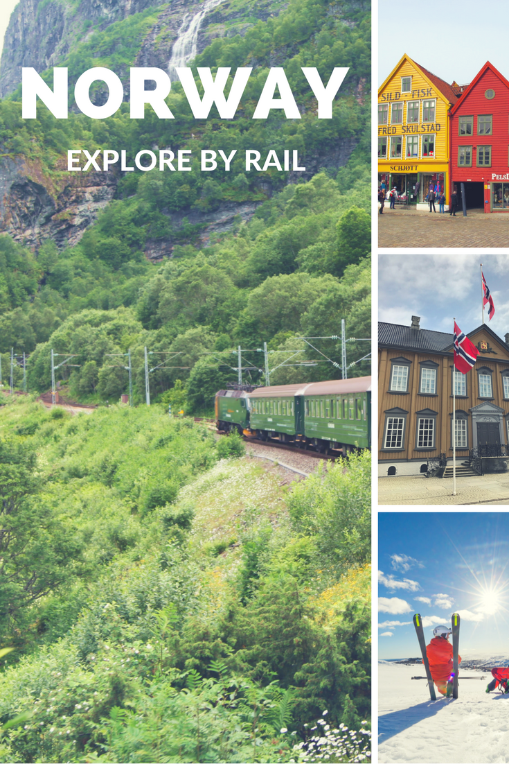 See Norway by Rail: Europe's most intriguing railway journeys from cities to mountains to fjords.