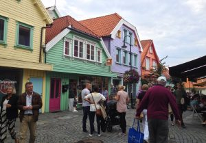 Norway's Most Colourful Street