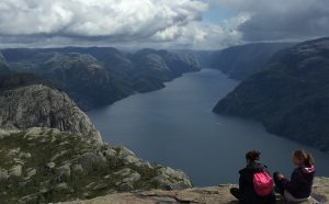 The Hike to Preikestolen