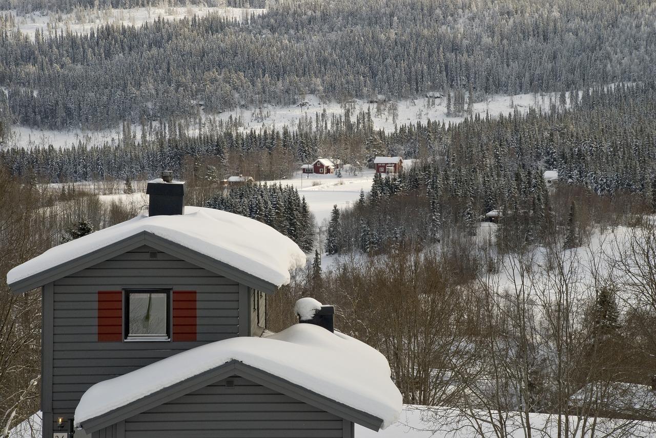 Äre Sweden in the winter