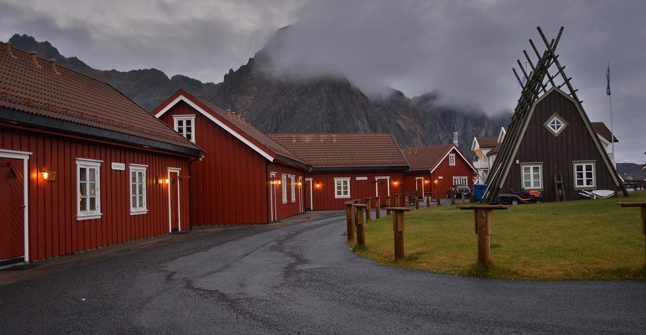 Anker Brygge in Svolvær