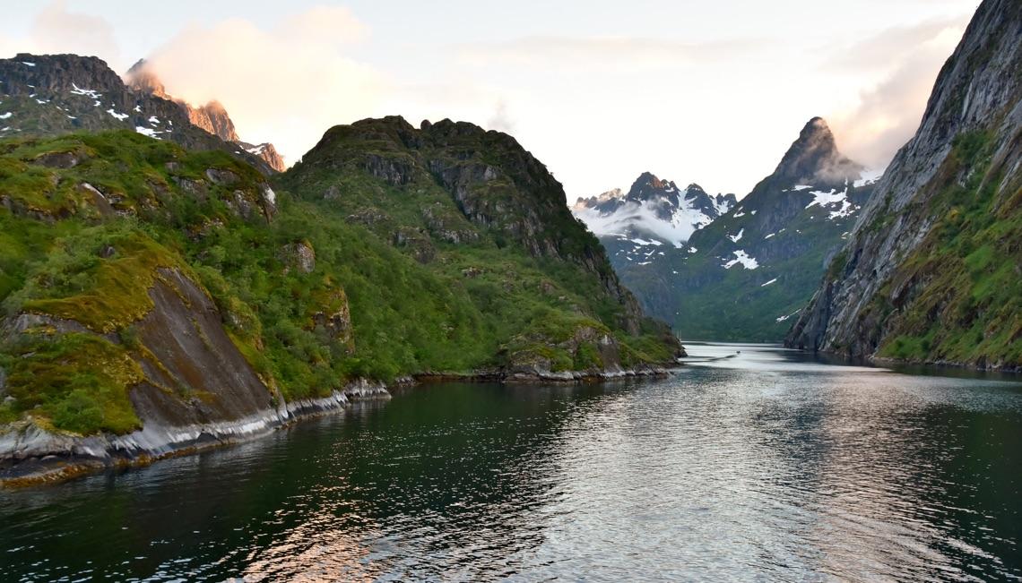 Trollfjord near Svolvær