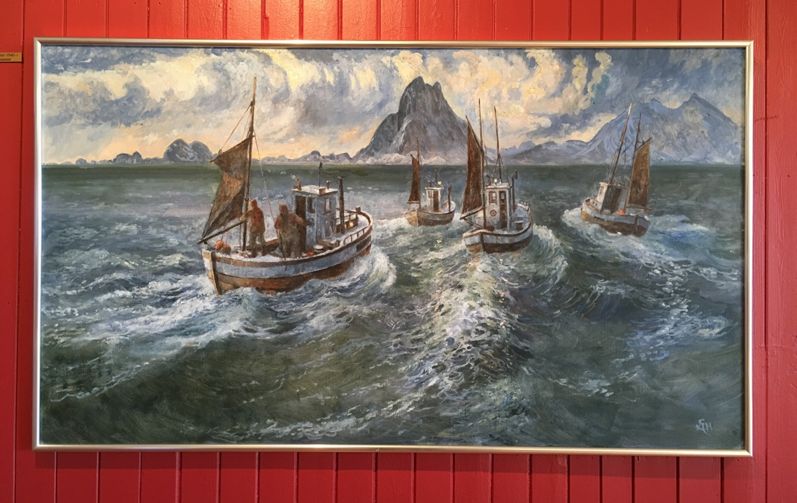 Art gallery in Henningsvær