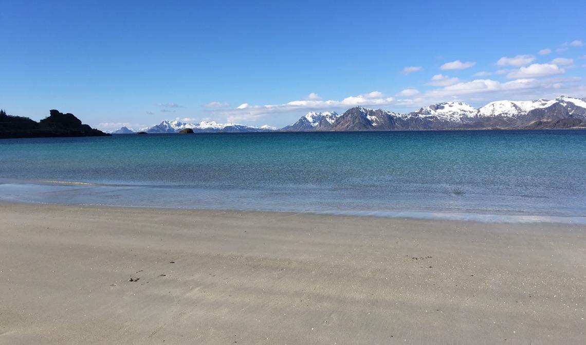Lofoten beach