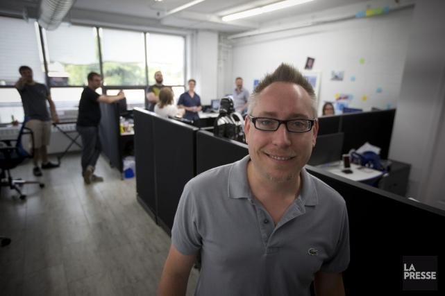 Un patron pas comme les autres La Presse Marc-André Lanciault