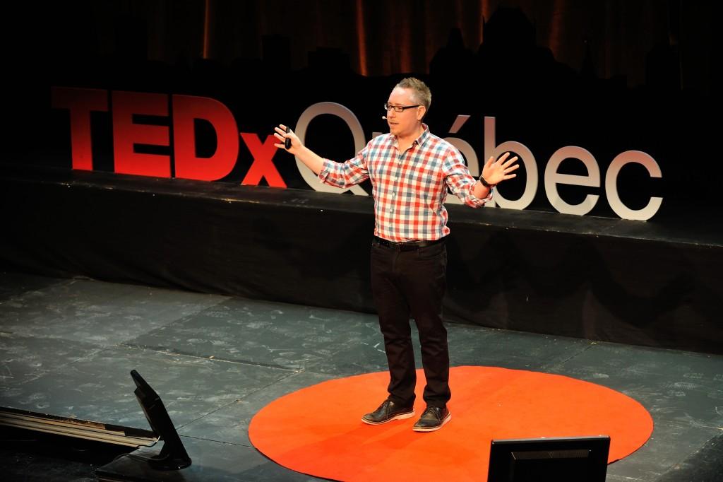 Crédit photo: TEDxQuebec Daniel Lévesque Photographe