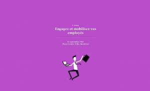 Conférence Les Affaires: Engagez et mobilisez vos employés