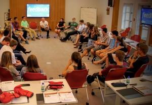 Je serai entrepreneur-entraîneur au Camp Entrepreneur en Devenir de l'EEB et j'ai besoin de vous