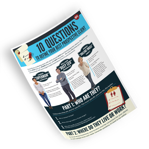 10 Questions To Define Your Best Prospective Client Image