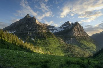 Mountain landscape photo by Matt Kloskowski