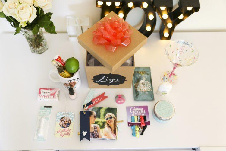 DIY Personalized Bridesmaid Gift Box